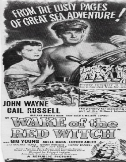 Wake of the Red Witch Movie Poster