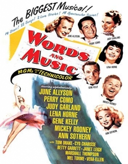 Words and Music Movie Poster