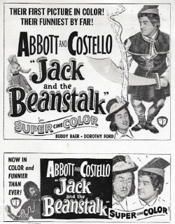 Jack and the Beanstalk (1952) - English