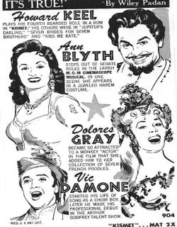 Kismet (1955) - English