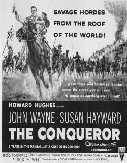 The Conqueror (1956) - English