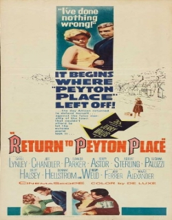Return to Peyton Place (1961) - English