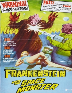 Frankenstein Meets the Spacemonster Movie Poster