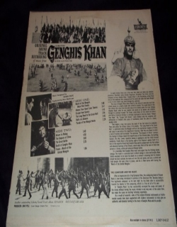 Genghis Khan (1965) - English