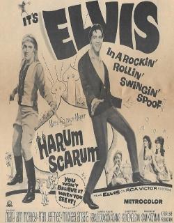 Harum Scarum Movie Poster
