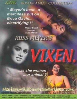 Vixen! Movie Poster