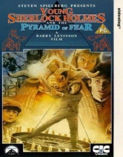 Young Sherlock Holmes Movie Poster