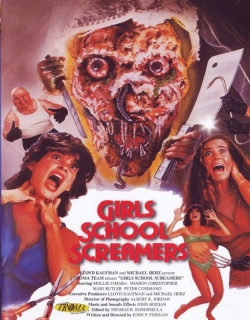 Girls School Screamers Movie Poster