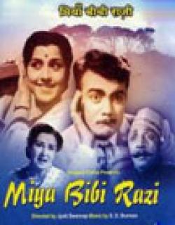 Miya Bibi Razi (1960) - Hindi