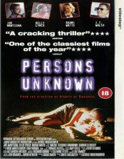 Persons Unknown (1996) - English