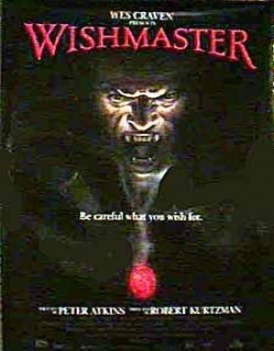 Wishmaster Movie Poster