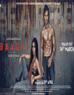 Baaghi Movie Poster