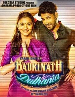 Badrinath Ki Dulhania (2017) First Look Poster