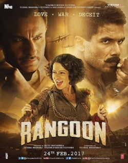 Rangoon (2017) First Look Poster