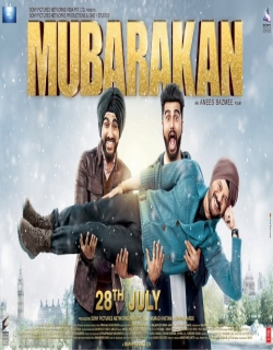 Mubarakan (2017) First Look Poster