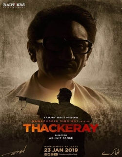 Thackeray (2019) First Look Poster