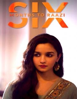 Raazi (2018) First Look Poster