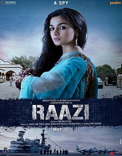 Raazi (2018) First Look Poster