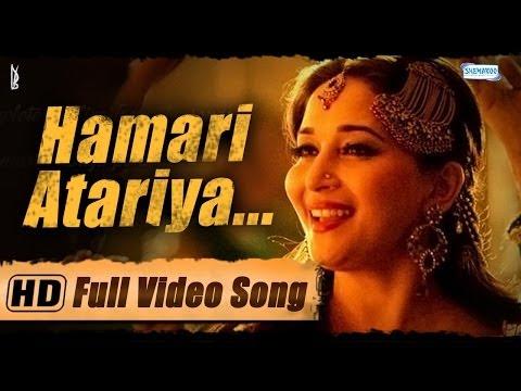 Hamari Atariya Full Video Song - Feat. Madhuri Dixit - Huma Qureshi - Dedh Ishqiya Exclusive - HD