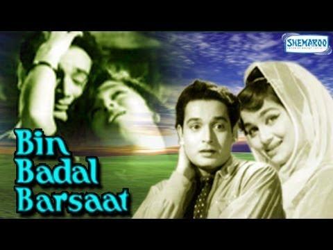 Bin Badal Barsaat - Biswajeet, Asha Parekh & Mehmood - Bollywood Classic Movie - Full Length HQ