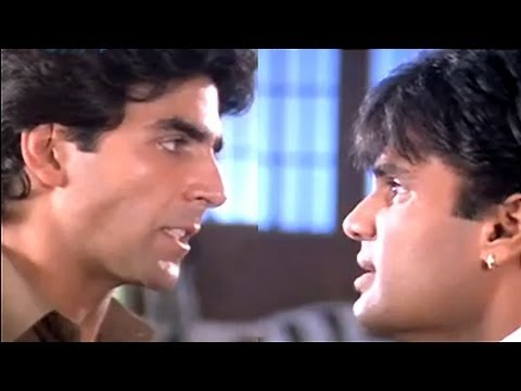Clash between Sunil Shetty and Akshay