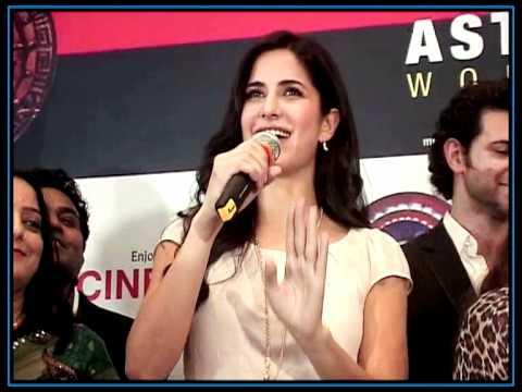 Katrina & Hrithik at 'Main Krishna Hoon' music launch