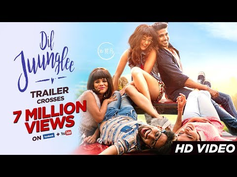 Dil Juunglee Trailer | Taapsee Pannu | Saqib Saleem | Releasing on 16th February