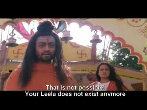 Irrfan as Dacoit turned Godman in movie Pratha (2002)