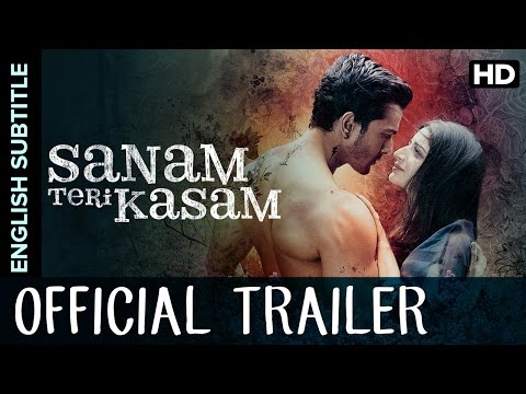 Sanam Teri Kasam Official Trailer with English Subtitle