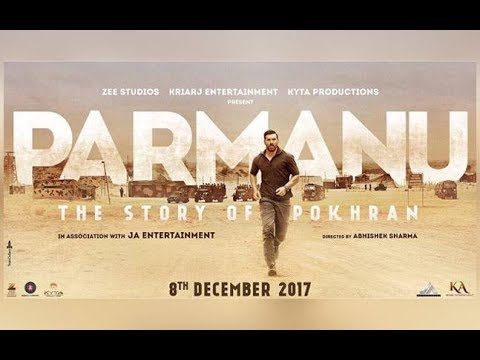 Parmanu-The Story Of Pokhran Official Trailer | John Abraham | 8th Dec 2017