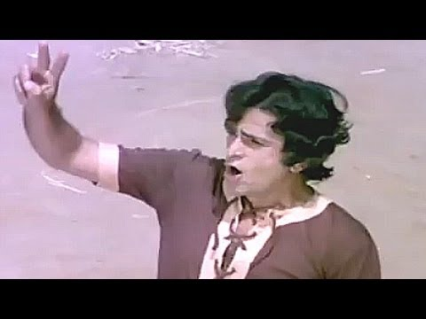 Shashi Kapoor, Danny training Villagers to fight