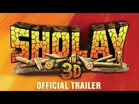 Sholay in 3D I Official Trailer I In Cinemas 3rd January 2014