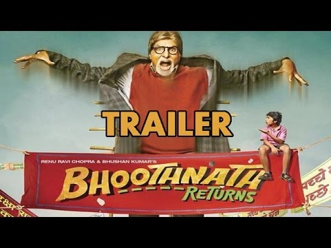 Bhoothnath Returns TRAILER Launch | Amitabh Bachchan