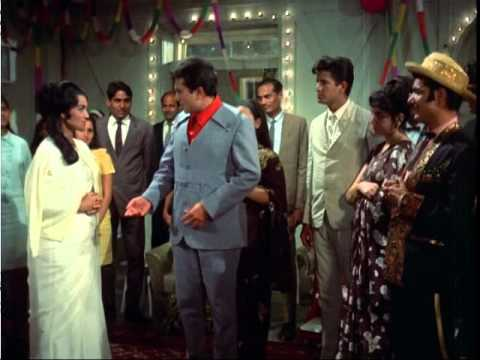 Kati Patang - Happy Birthday - Asha Parekh & Rajesh Khanna - Bollywood Classic Comedy Scenes