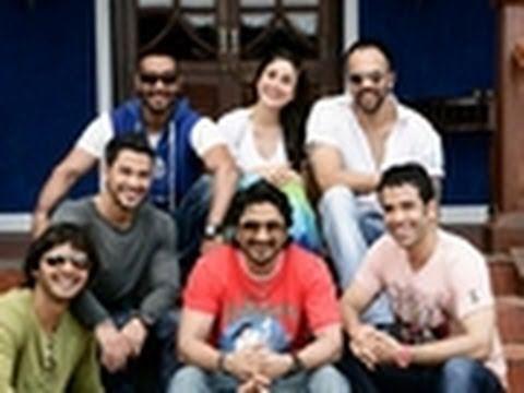 'Golmaal 3' cast play KBC