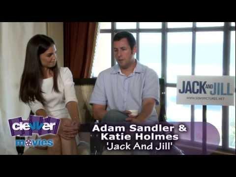 Adam Sandler & Katie Holmes 'Jack and Jill' Interview