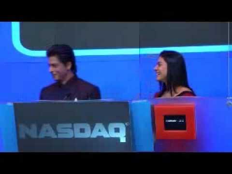 MY Name Is Khan team @NASDAQ SRK, Kajol