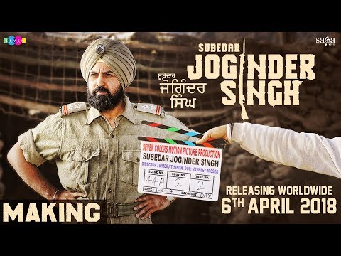 Subedar Joginder Singh - Making | Gippy Grewal | War Scenes | New Punjabi Movie 2018