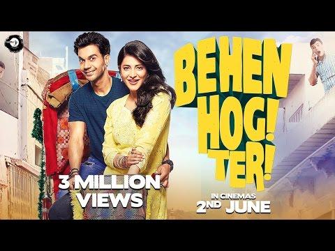 Behen Hogi Teri - Official Trailer | Rajkummar Rao | Shruti Haasan | Gautam Gulati