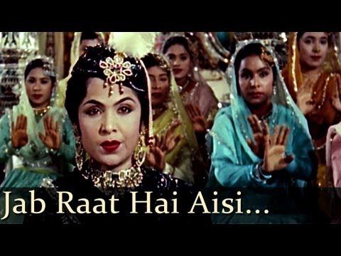 Jab Raat Hai Aisi Matwali - Mughal - E - Azam (Lata Mangeshkar - Chorus)