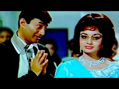 Dev Anand's first meeting with Asha Parekh - Mahal Scene 1