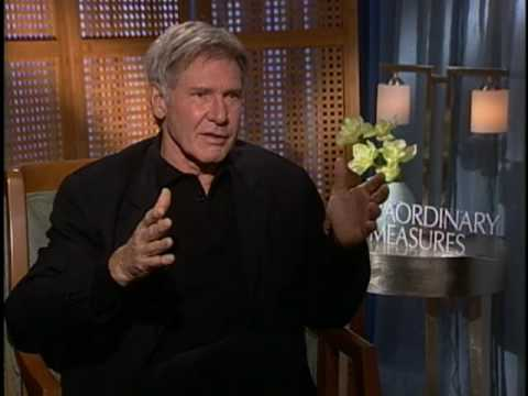 EXTRAORDINARY MEASURES - Interview With Harrison Ford