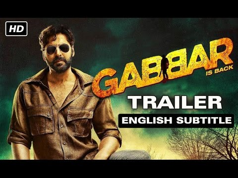 Gabbar Is Back | Official Trailer with English Subtitle | Akshay Kumar, Shruti Haasan