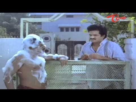 Srilakshmi Shampoo Experiment On Mallikarjunarao - Comedy Scene