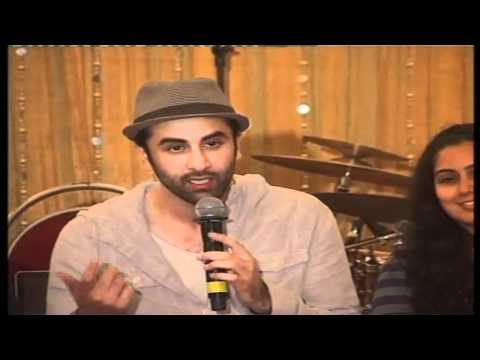 Ranbir Kapoor at 'Rockstar' concert press meet