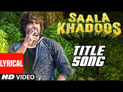 SAALA KHADOOS Title Song (LYRICAL VIDEO) | R. Madhavan, Ritika Singh | T-Series