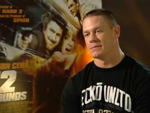 Star of movie '12 rounds' John Cena talks about the movie