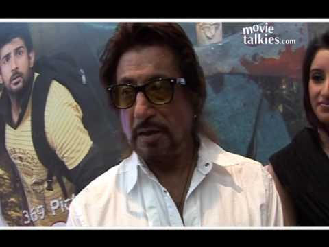 Vikram Bhatt, Aslam Khan and Shakti Kapoor at the First Look of 'Bloody D'