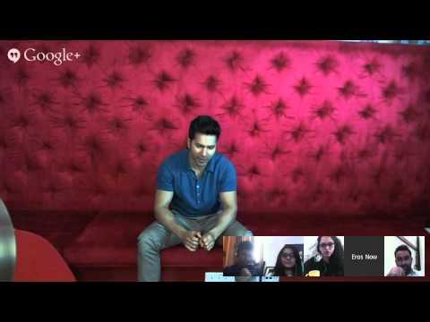 #JeeKardaOnYouTube | Hangout with Varun RAGHU Dhawan