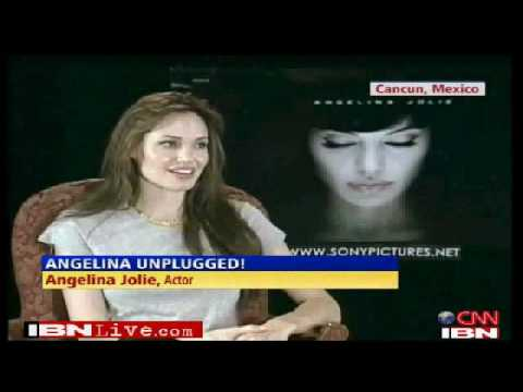 Watch Angelina talk about 'Salt'